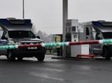 Maskovaný lupič přepadl benzínku
