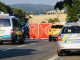 Aktuálně: Smrtelná havárie motorkáře uzavřela silnici u Drásova, přivolaný vrtulník odlétá prázdný