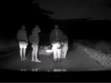 Video: Namol opilý řidič naboural policejní auto