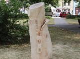 Petrovicko zkrášlí další dřevěné sochy