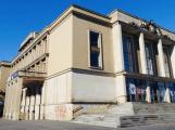 Stavba výtahu v kulturním domě je v plném proudu