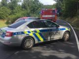 Vážná nehoda motorkáře uzavřela silnici u obce Trhové Dušníky