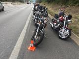 Policisté hledají svědky nehody motorkáře na dálnici D4