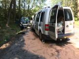Čelní náraz dvou vozidel si vyžádal šest zraněných