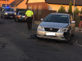 V Bohutíně nohu z plynu, srazila se zde dvě auta