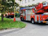 Z bytu na Drkolnově vycházel kouř. Na místě zasahovaly dvě jednotky hasičů