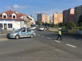 V Březnické ulici byl sražen chodec