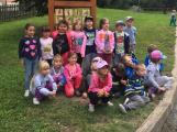 Děti z mateřinek navštívily minizoo na Nováku
