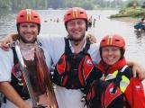 Vodním záchranářům na Slapech letos mírně přibylo zásahů