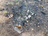 Rozdělaný oheň neuhasili a odešli, hasiči zabránili požáru v CHKO