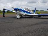 Za nouzové přistání v Dlouhé Lhotě mohla pravděpodobně konstrukční chyba letounu