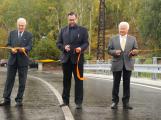 Nový most přes Litavku byl slavnostně otevřen