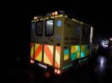 Dopravní nehoda dvou motorkářů s autem zkomplikovala provoz na Strakonické