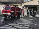 Hasiči likvidovali požár filtračních jednotek v Kovohutích
