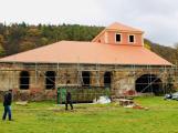 V Jincích dokončili rekonstrukci střechy na huti Barbora