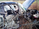 Nehoda autobusu s automobilem omezila provoz na Strakonické