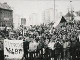 Pochod svobody Příbram - Památník Vojna připomene události roku 1989