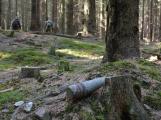 Pyrotechnická očista v Brdech: Škála nalezené munice je pestrá