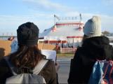 V Dobříši se protestovalo proti drezuře zvířat v cirkusech