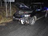 Divoké prase vběhlo před projíždějící auto, řidič skončil v nemocnici