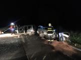 Vážná dopravní nehoda uzavřela Strakonickou. Na místě přistál vrtulník