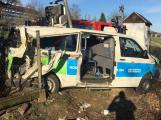 Policie obvinila řidiče kvůli tragické nehodě sanitky v Čenkově