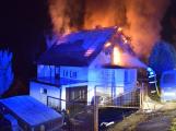 Požár rodinného domu v Solenicích způsobil škodu za tři miliony
