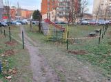 Dětské hřiště v ulici Budovatelů dostane oplocení