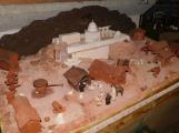 Vězni vytvořili betlém. Vystaven je na Svaté Hoře
