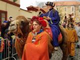 I letos do města přijedou Tři králové na živých velbloudech