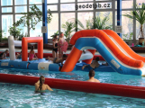 Rodinný den v Aquaparku nabídne mořské panny a nafukovací atrakci se skluzavkou
