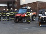 Hasiči uvedli do provozu novou čtyřkolku. Její součástí je vysokotlaké hasicí zařízení
