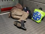 Bezdomovec: Chlastám, abych přežil mrazy, pomoc nepotřebuji