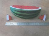 Inspekce zakázala plastový meloun, vzhledem i vůní příliš připomíná skutečný