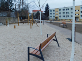 Sedlčany dokončují park vedle modlitebny