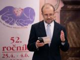 Na 52. ročníku Hudebního festivalu  A. Dvořáka vystoupí umělecké lahůdky