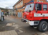 V Bohutíně hořelo ve sklepě uhlí, rychlým zásahem hasičů nedošlo k rozšíření plamenů
