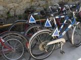 Zájem o sdílená kola v Petrovicích byl. Do stojanů se však nevracela, nebo byla zničená
