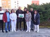 Příbramští fotbalisté podpořili vznik nové odpočinkové zóny v areálu nemocnice