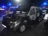 Vyřizování účtů? V noci na sobotu shořelo auto v Chrašticích