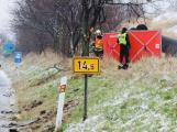 Dopravní nehodu u Mníšku pod Brdy nepřežila mladá žena. Další tři osoby skončily v nemocnici