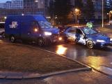 Dopravní nehoda omezila provoz v ulici Karla Kryla
