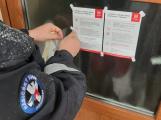 Dobrovolní hasiči se zapojili do roznášení informačních letáků