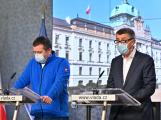 Ústřední krizový štáb doporučí vládě, aby požádala Sněmovnu o prodloužení nouzového stavu o 30 dní