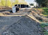 Stavba železniční zastávky Příbram sídliště je v plném proudu, zkušební provoz by mohl začít v červnu