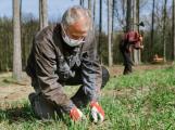 Zaniklé brdské obce připomenou nově vysazené stromy