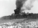 Před 42 lety zachvátily plameny Svatou Horu. Hasiči bojovali s požárem čtyři dny
