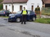 Nehoda dvou vozidel si vyžádala škodu přesahující 100 tisíc korun