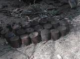 Pyrotechnici zajistili v Brdech přes 50 nevybuchlých granátů