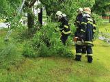 Varování meteorologů se potvrdilo: Přívalové deště zaměstnávají hasiče